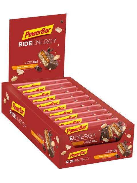PowerBar Ride Sportvoeding met basisprijs Peanut-Caramel 18 x 55g geel/rood